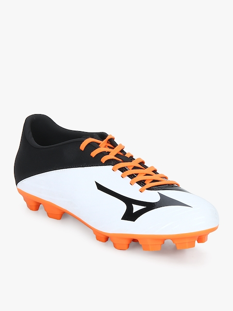 Basara 103 Md (Wide) White Football Shoes