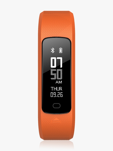 HE-115-03-Orange Fitness And Activity Tracker