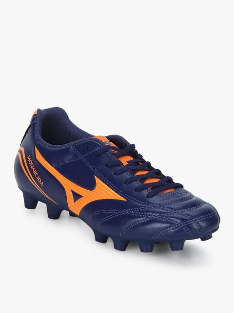 Monarcida Fs Md (Wide) Navy Blue Football Shoes