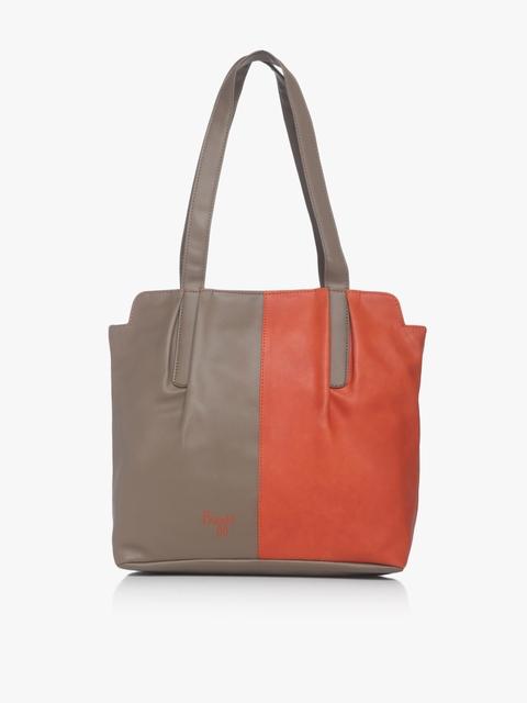 Lxe4 Showoff Y G E Carmin Orange Shoulder Bag