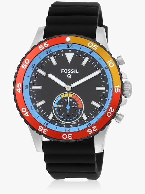 Q Crewmaster Ftw1124 Black/Multicoloured Hybrid Smart Watch