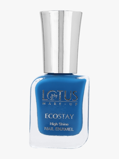 Blue Ecostay High Shine Nail Enamel
