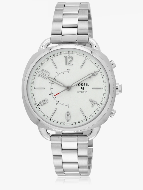 Q Accomplice Ftw1202 Silver/White Hybrid Smartwatch