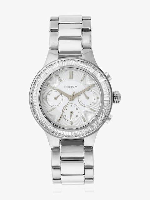 Chambers Ny2394i Silver/Silver Analog Watch