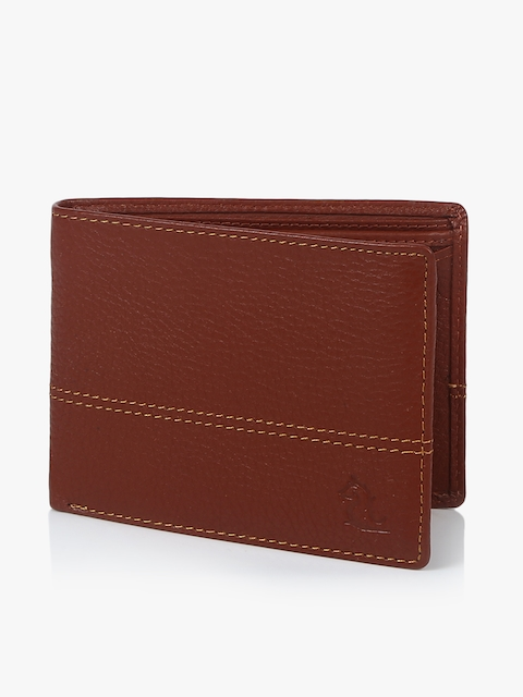 Maroon Leather Coin Wallet