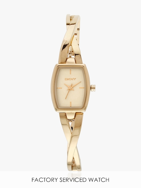Ny2314 Gold/Gold Analogue Watch