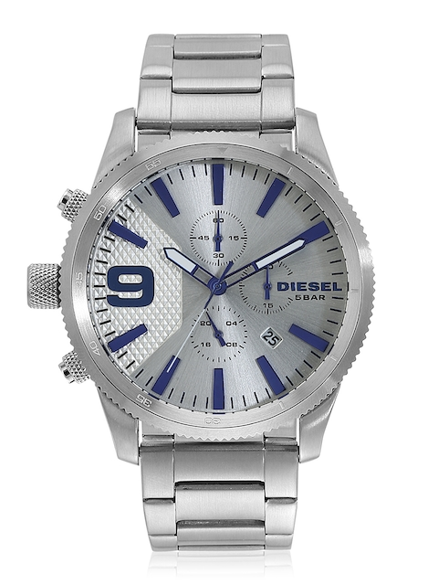 Rasp Serie Dz4452 Silver/White Chronograph Watch