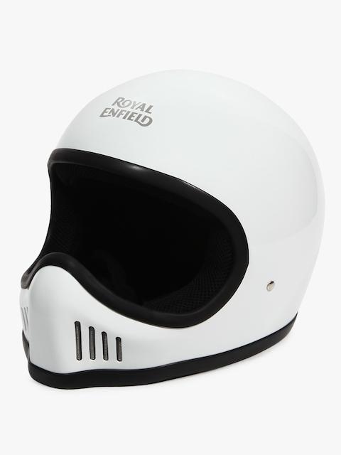 Full Face Gloss White Helmet