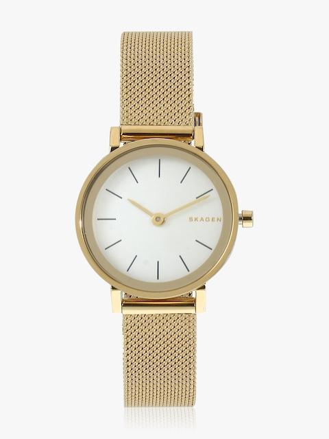Hald Skw2443 Gold/White Analog Watch