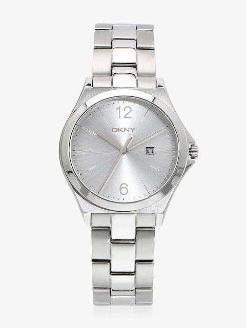 Silver/Silver Analogue Watch