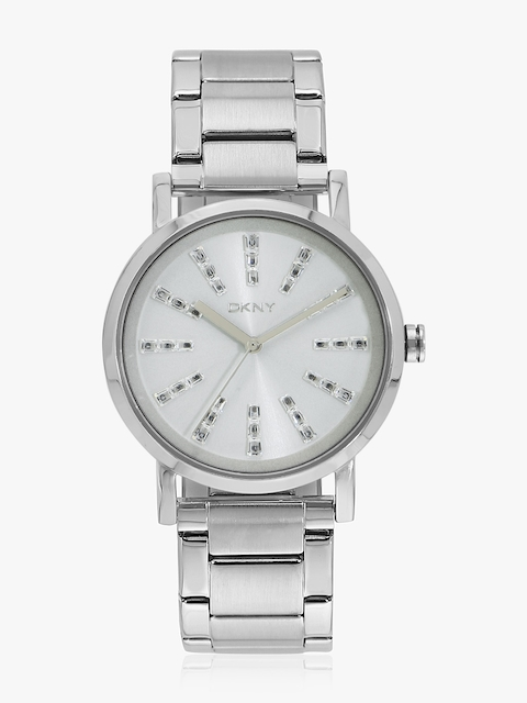 Soho Ny2416 Silver/White Analog Watch