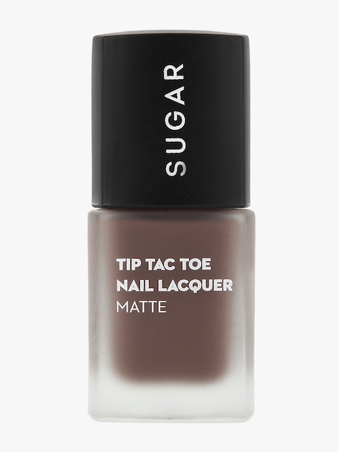 053 Bow Brown Tip Tac Toe Nail Lacquer