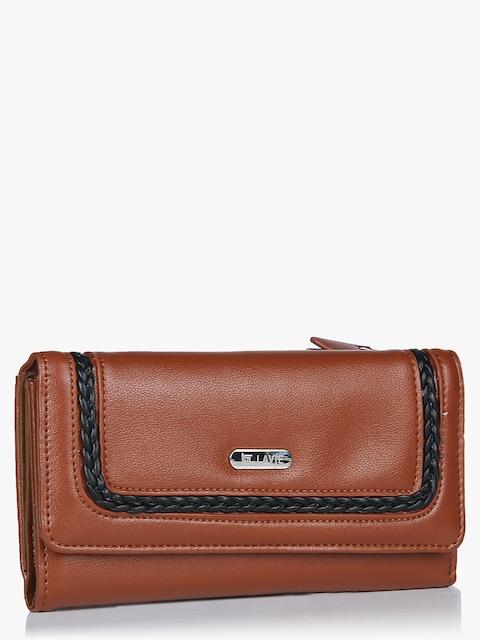 Cyfe Tan Small Wallet