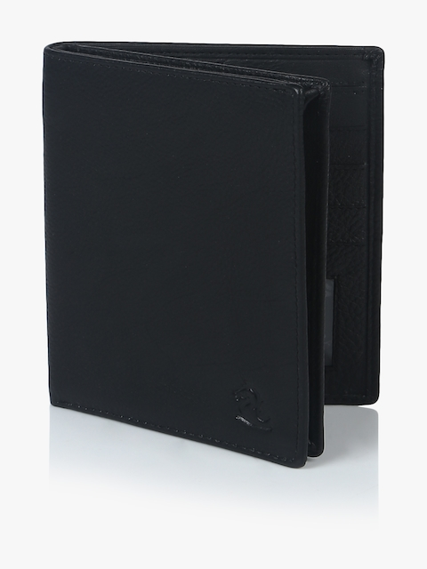 Black Leather Coin Wallet