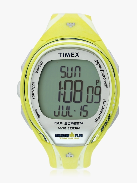Yellow/Grey Digital Watch