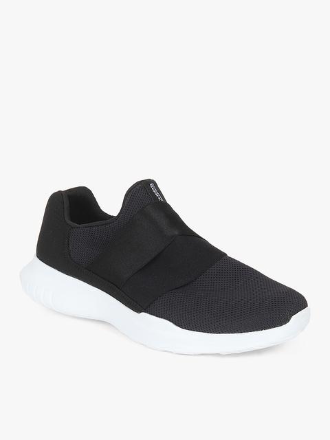 Go Run Mojo- Mania Black Running Shoes