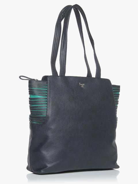 L Jingle Y G Dora Navy Blue Handbag