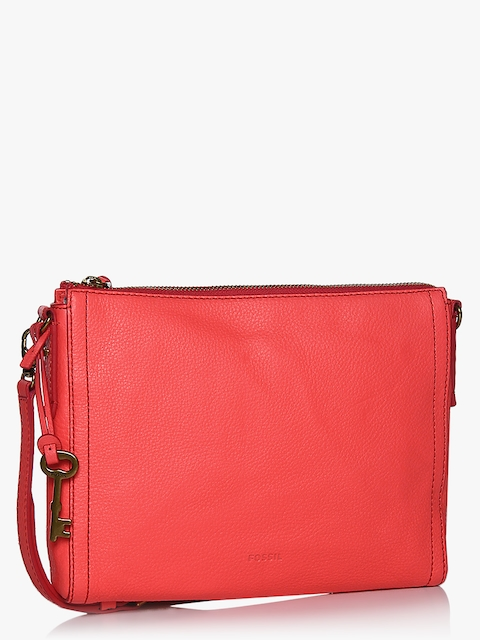 Emma Neon Red Crossbody Bag