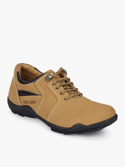 Camel Brown Lifestyle Shoes