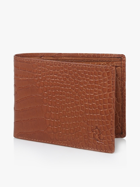 Camel Brown Leather Coin Wallet