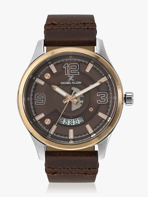 Brown/Brown Analogue Watch