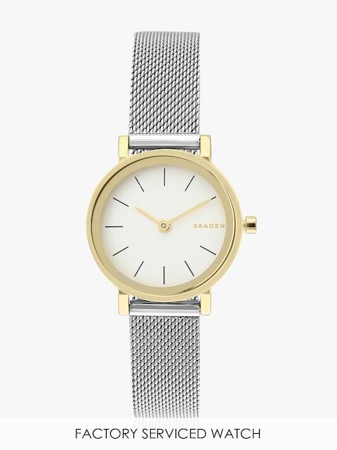 Hald Skw2445i Silver/White Analog Watch