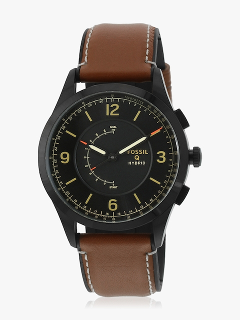 Ftw1206 Q Activist Brown/Black Hybrid Smart Watch