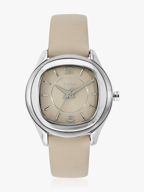 Ny8809I Beige/Beige Analogue Watch