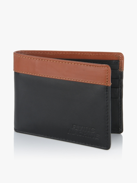 Black/Tan Bifold Card Holder