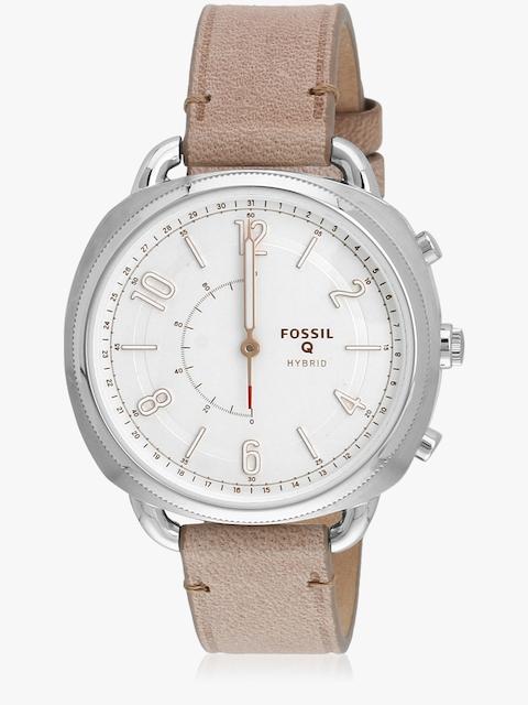 Q Accomplice Ftw1200 Beige/White Hybrid Smartwatch