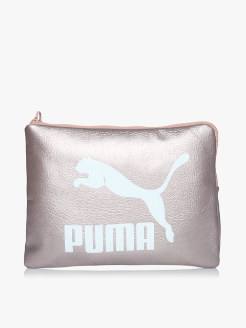 Prime Metallic Rose Gold Pouch