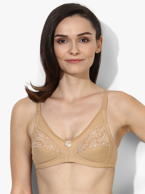 Nude Self Design Non-Wired Non Padded Basic Bra