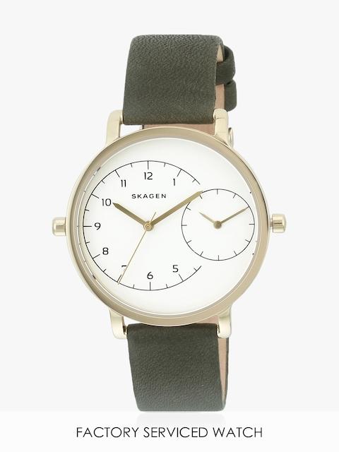 Hagen Skw2476i Green/White Analog Watch