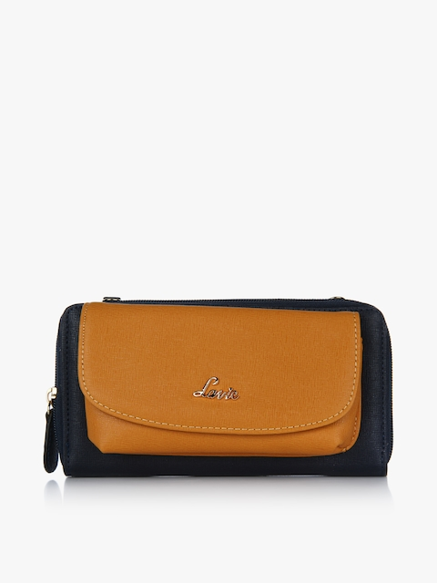 Baya Small Tan Zip Around Wallet