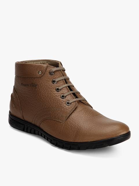 Tan Derby Boots