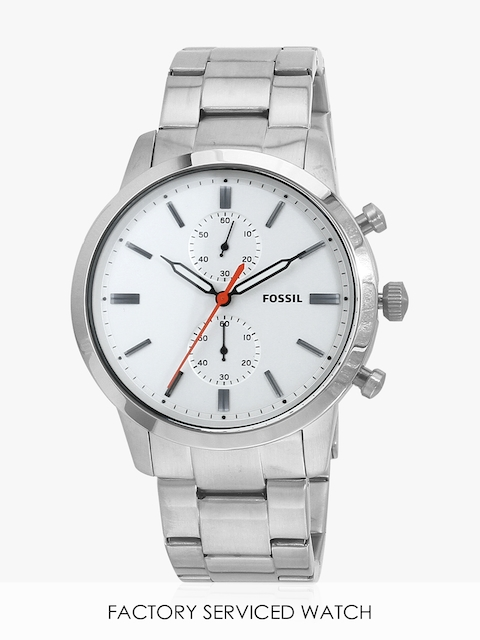 Towns Fs5346i Silver/White Chronograph Watch