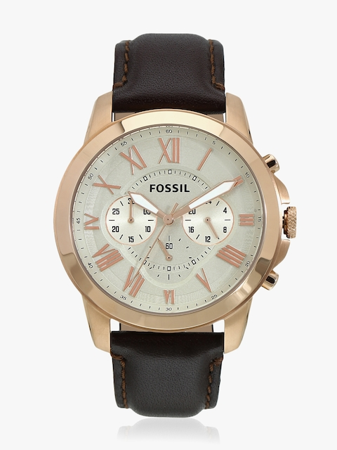 Brown/Grey Chronograph Watch