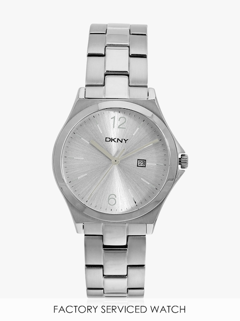 Parsons Ny2365 Silver/Silver Analog Watch