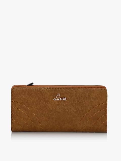Baya Small Ochre Zip Around Wallet