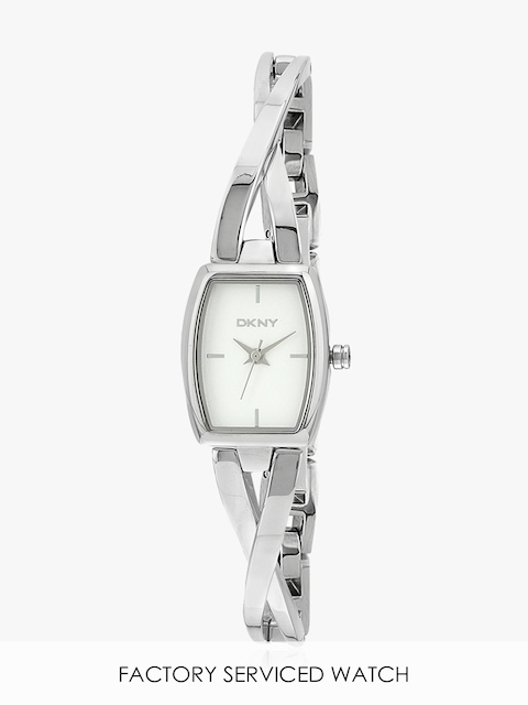 Ny2234 Silver/White Analog Watch