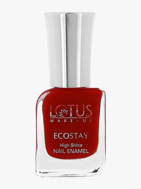 Lotus Ecostay Nail Enamel Rocking Red