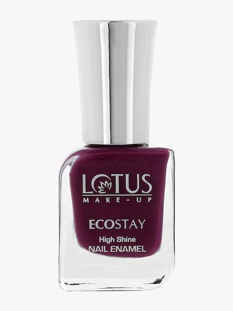 Lotus Ecostay Nail Enamel Plum Play