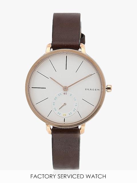 Hagen Skw2356i Brown/White Analog Watch