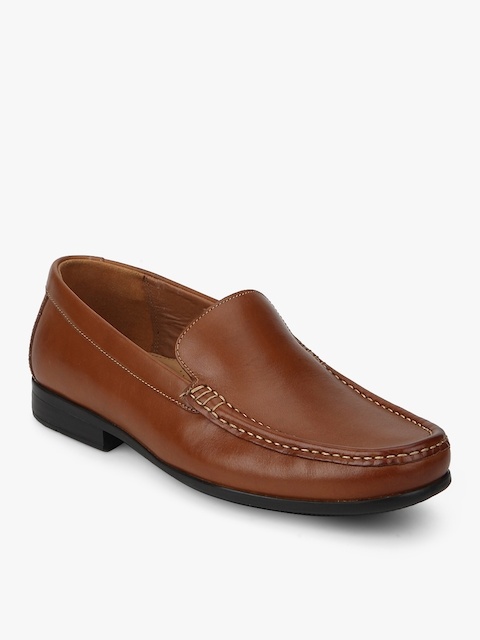 Claude Plain Tan Loafers