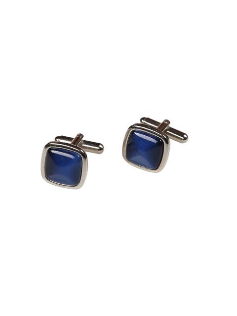 Tossido Blue Square Cufflinks