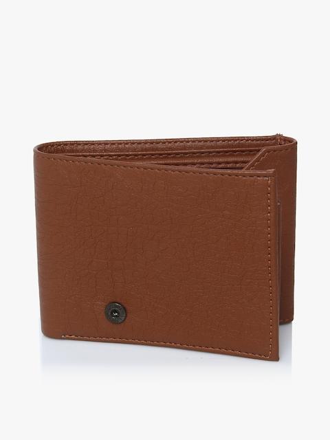 Tan Three Fold Wallet