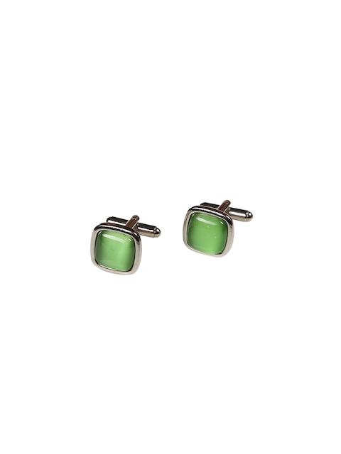 Tossido Green Square Cufflinks