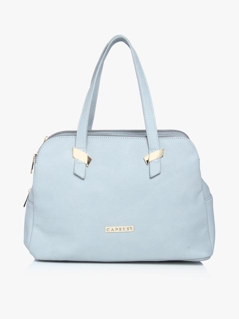 Rooky Soft Blue Medium Satchel Bag
