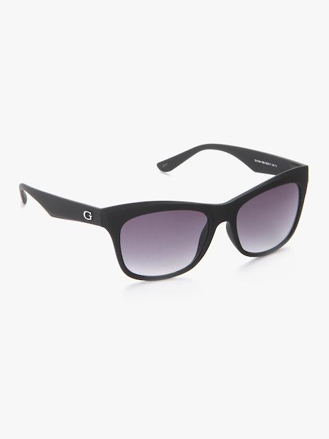 GUESS Women Rectangle Sunglasses GUS74645505BSG