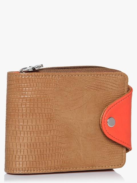 Tan/Orange Wallet